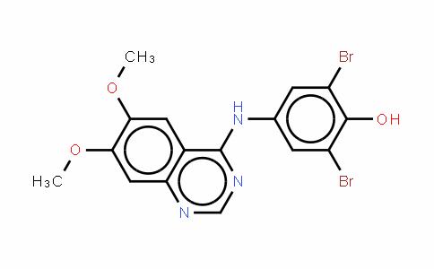 4-(3',5'-二溴-4-羟基苯基)氨基-6,7-二甲氧基喹唑啉