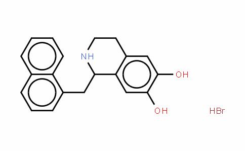 1,2,3,4-四氢-1-(1-萘基甲基)-6,7-异喹啉二醇氢溴酸盐