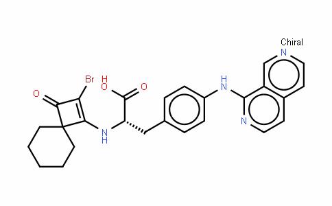 N-(2-溴-3-氧代螺[3.5]壬-1-烯-1-基)-4-(2,7-萘啶-1-基氨基)-L-苯基丙氨酸