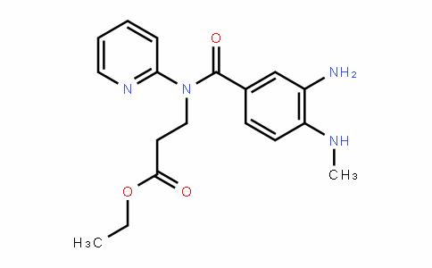 3 - [(3 -氨基- 4 -甲基苯甲酰)吡啶-2基氨基]丙酸乙酯