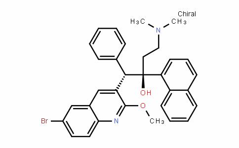 (1S,2R)-1-(6-bromo-2-methoxyquinolin-3-yl)-4-(dimethylamino)-2-(naphthalen-1-yl)-1-phenylbutan-2-ol