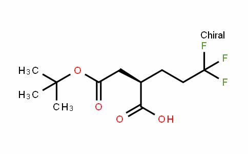 (2R)-2-(2-Tert-Butoxy-2-oxoethyl)-5,5,5-trifluoropentanoic acid