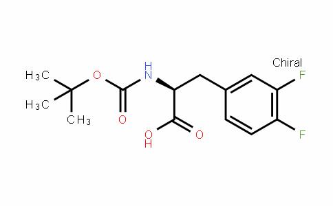 BOC-L-3,4-二氟苯丙氨酸