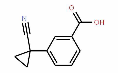 3-(1-Cyanocyclopropyl)benzoic acid