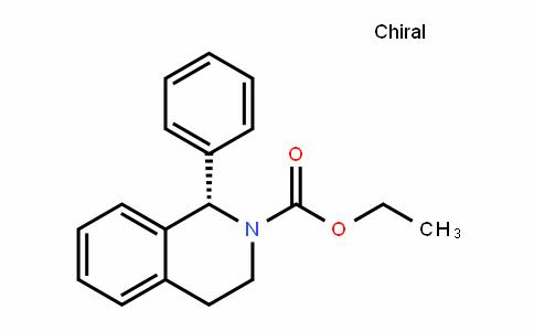 Ethyl (S)-1-phenyl-1,2,3,4-tetrahydro-2-isoquinolinecarboxylate
