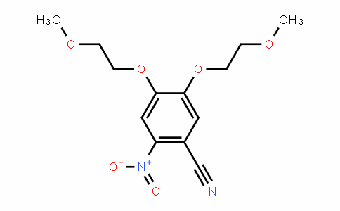 4,5-bis(2-methoxyethoxy)-2-nitrobenzonitrile