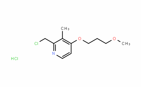 2-Chloromethyl-3-methyl-4-(3-methoxypropoxy)pyridine hydrochloride