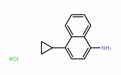 4-cyclopropylnaphthalen-1-amine hydrochloride
