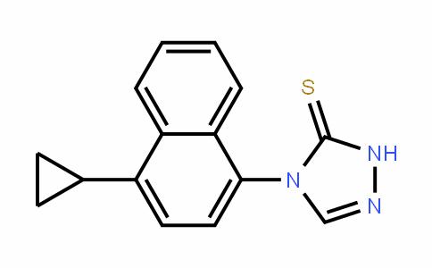 4-(4-cyclopropylnaphthalen-1-yl)-1H-1,2,4-triazole-5-thione