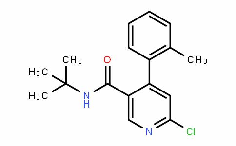 N-(tert-butyl)-6-chloro-4-(o-tolyl)nicotinamide