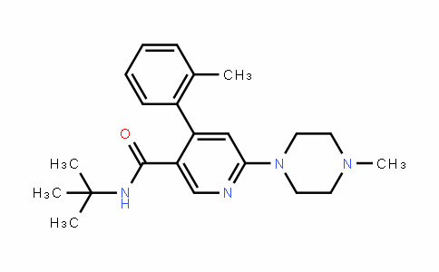 N-(tert-butyl)-6-(4-methylpiperazin-1-yl)-4-(o-tolyl)nicotinamide