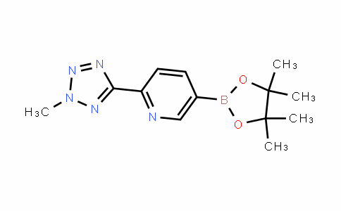 2-(2-Methyl-2H-tetrazol-5-yl)-5-(4,4,5,5-tetraMethyl-1,3,2-dioxaborolan-2-yl)pyridine
