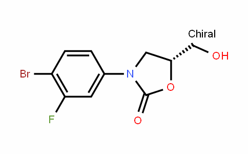 (5R)-3-(4-broMo-3-fluorophenyl)-5-(hydroxymethyl)-1,3-oxazolidin-2-one