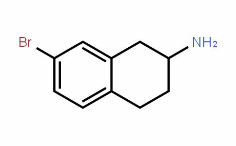 7-Bromo-1,2,3,4-tetrahydro-naphthalen-2-ylamine