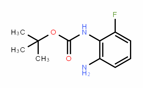 (2-Amino-6-fluoro-phenyl)-carbamic acid tert-butyl ester