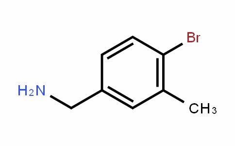 4-Bromo-3-methyl-benzylamine