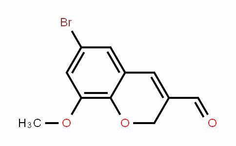 6-Bromo-8-methoxy-2H-chromene-3-carbaldehyde