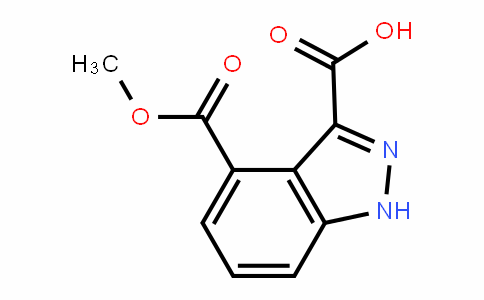 1H-Indazole-3,4-dicarboxylic acid 4-methyl ester