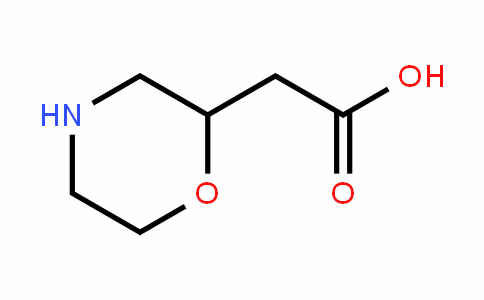 Morpholin-2-yl-acetic acid