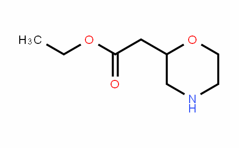 Morpholin-2-yl-acetic acid ethyl ester