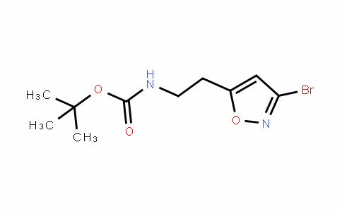 [2-(3-Bromo-isoxazol-5-yl)-ethyl]-carbamic acid tert-butyl ester