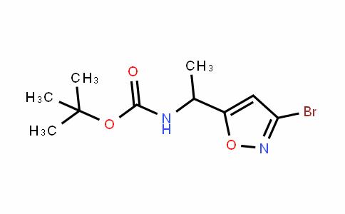 [1-(3-Bromo-isoxazol-5-yl)-ethyl]-carbamic acid tert-butyl ester