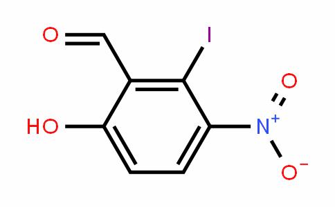 6-iodo-5-nitrosalicylaldehyde