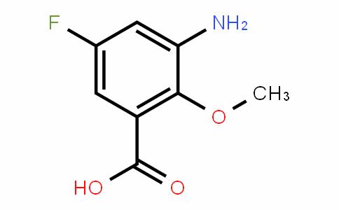 3-amino-5-fluoro-2-Methoxybenzoic acid