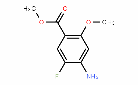 4-amino-5-fluoro-2-methoxy-benzoic acid methyl ester