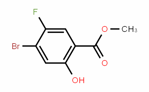 methyl 4-bromo-5-fluoro-2-hydroxybenzoate