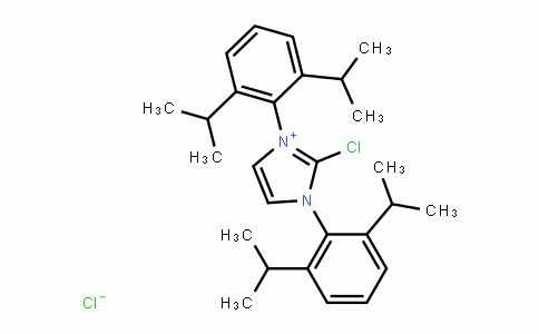 2-chloro-1,3-bis[2,6-di(propan-2-yl)phenyl]imidazol-1-ium,chloride