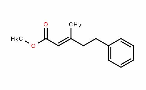 methyl 3-methyl-5-phenylpent-2-enoate