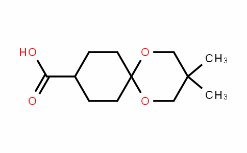 3,3-DIMETHYL-1,5-DIOXASPIRO[5.5]UNDECANE-9-CARBOXYLIC ACID
