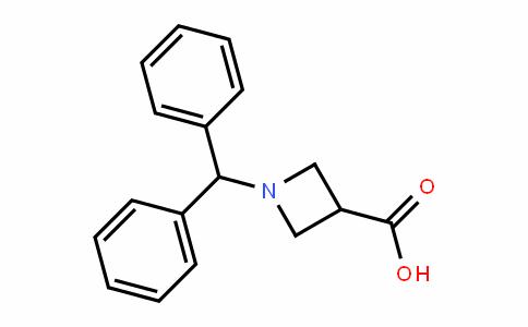 1-二苯甲基氮杂环丁烷-3-甲酸