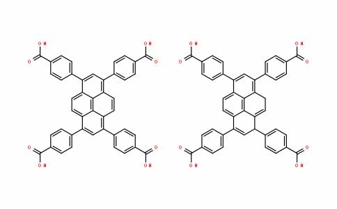 4,4',4'',4'''-(1,9-dihydropyrene-1,3,6,8-tetrayl)tetrabenzoicacid 1,3,6,8-Tetra(4-carboxylphenyl)pyrene