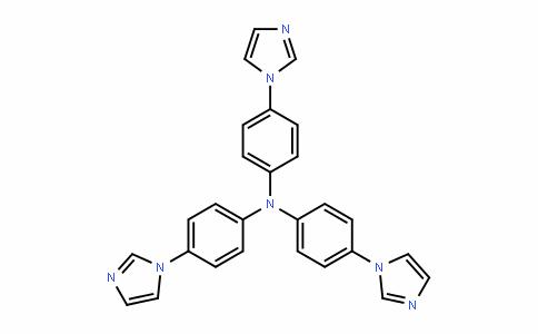 4-(1H-imidazol-1-yl)-N,N-bis[4-(1H-imidazol-1-yl)phenyl]aniline