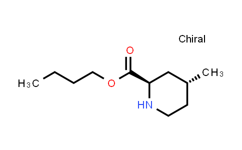 (2R,4R)-4-methyl-2-piperidinecarboxylic acid butyl ester