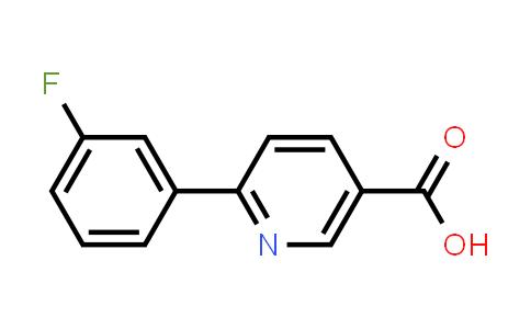 6-(3-Fluorophenyl)-nicotinic acid