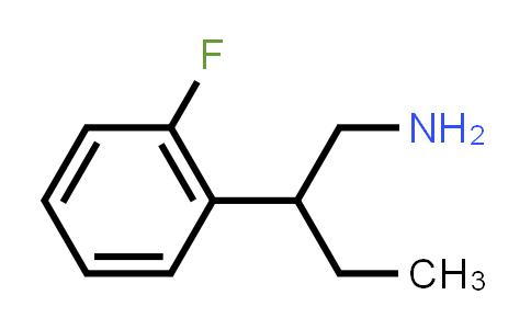 2-(2-Fluorophenyl)butan-1-amine