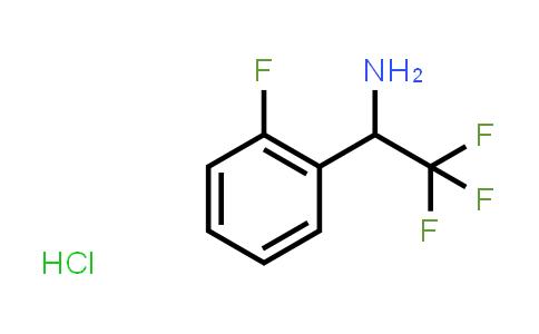 2,2,2-Trifluoro-1-(2-Fluorophenyl)Ethan-1-Amine Hydrochloride