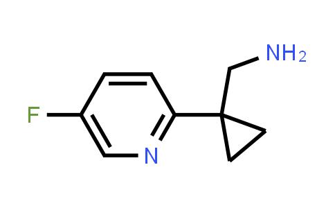 [1-(5-Fluoropyridin-2-yl)cyclopropyl]methanamine