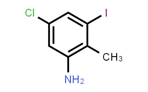 5-Chloro-3-iodo-2-methylaniline
