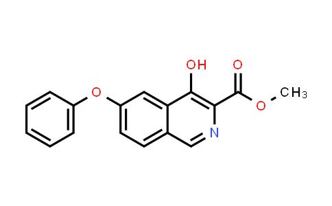 Methyl 4-hydroxy-6-phenoxyisoquinoline-3-carboxylate