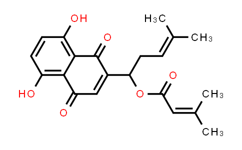 Alkannin beta,beta-dimethylacrylate